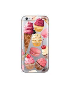 Husa iPhone 6/6S Lemontti Silicon Art Cookies