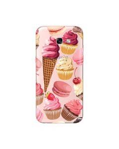 Husa Samsung Galaxy A5 (2017) Lemontti Silicon Art Cookies