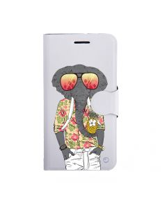Husa Samsung Galaxy J3 (2016) Lemontti Book Art Good Vibes