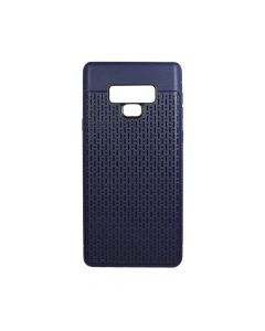 Husa Samsung Galaxy Note 9 Just Must Silicon Stripe Soft Navy