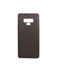 Husa Samsung Galaxy Note 9 Just Must Silicon Stripe Soft Brown