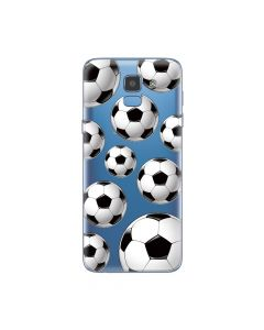 Husa Samsung Galaxy J6 (2018) Lemontti Silicon Art Football