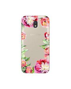 Husa Samsung Galaxy J3 (2017) Lemontti Silicon Art Spring Flowers