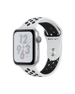 Apple Watch 4 Nike+ GPS Silver Aluminium Case 44mm cu Pure Platinum/Black Nike Sport Band