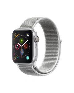 Apple Watch 4 GPS Silver Aluminium Case 40mm cu Seashell Sport Loop