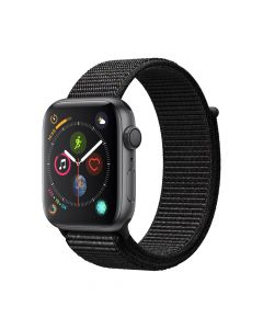 Apple Watch 4 GPS Space Gray Aluminium Case 44mm cu Black Sport Loop