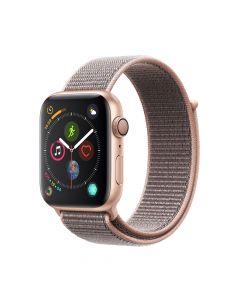 Apple Watch 4 GPS Gold Aluminium Case 44mm cu Pink Sand Sport Loop