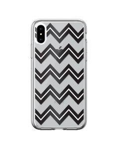 Husa iPhone XS Max Devia Silicon Bowen Series Black (cu model electroplacat)