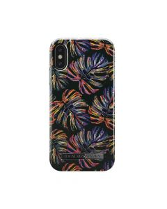 Carcasa iPhone X iDeal of Sweden Fashion Neon Tropical