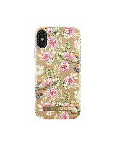 Carcasa iPhone X iDeal of Sweden Fashion Champagne Birds
