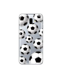 Husa Samsung Galaxy J6 Plus Lemontti Silicon Art Football