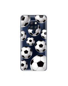 Husa Huawei Mate 20 Lemontti Silicon Art Football