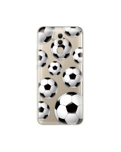Husa Huawei Mate 20 Lite Lemontti Silicon Art Football