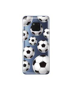 Husa Huawei Mate 20 Pro Lemontti Silicon Art Football