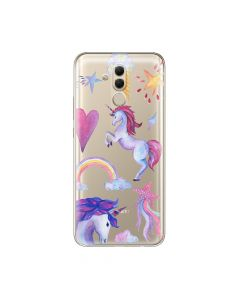 Husa Huawei Mate 20 Lite Lemontti Silicon Art Unicorn