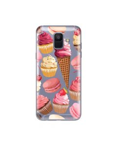 Husa Samsung Galaxy A6 (2018) Lemontti Silicon Art Cookies