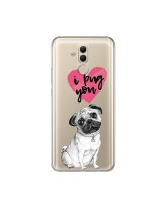 Husa Huawei Mate 20 Lite Lemontti Silicon Art Pug You