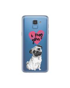 Husa Samsung Galaxy J6 (2018) Lemontti Silicon Art Pug You
