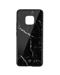 Carcasa Sticla Huawei Mate 20 Pro Just Must Glass Print Black Marble
