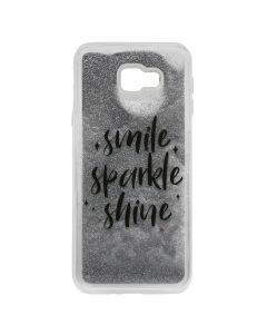 Carcasa Samsung Galaxy J4 Plus Lemontti Liquid Sand Smile, Sparkle, Shine