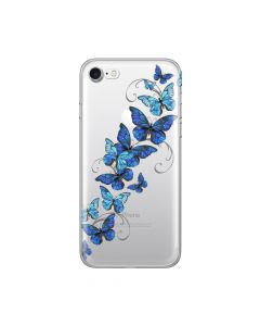 Husa iPhone 8 / 7 Lemontti Silicon Art Butterflies