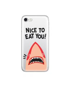 Husa iPhone 8 / 7 Lemontti Silicon Art Nice To Eat You