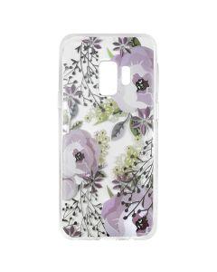 Husa Samsung Galaxy S9 G960 Lemontti Silicon Art Flowers