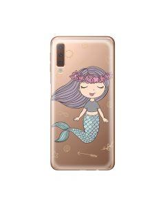 Husa Samsung Galaxy A7 (2018) Lemontti Silicon Art Little Mermaid
