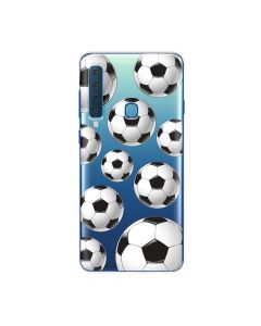Husa Samsung Galaxy A9 (2018) Lemontti Silicon Art Football