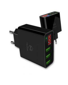 Incarcator Retea Mcdodo 3 Ports USB Black