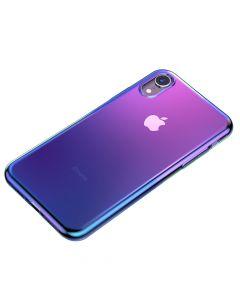 Husa iPhone XR Baseus Glow Transparent Black