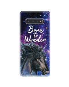 Husa Samsung Galaxy S10 Plus G975 Lemontti Silicon Art Born To Wonder