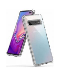 Husa Samsung Galaxy S10 Plus G975 Ringke Fusion Transparent