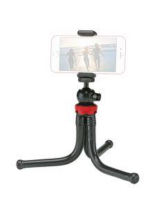 Kathay Mini Trepied Flexibilcu Suport Telefon Negru