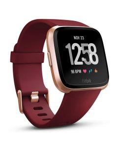 Smartwatch Fitbit Versa (NFC) Merlot Band / Rose Gold Case Aluminum