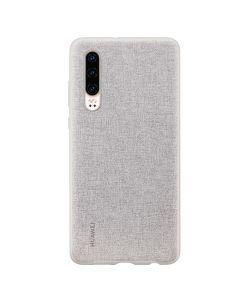 Carcasa Huawei P30 Huawei PU Case Grey