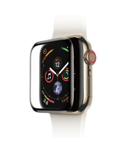 Folie Apple Watch 4 44mm Baseus Sticla Curbata Full Screen Black (0.3mm)