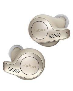 Casca Stereo Bluetooth Jabra Elite 65t, (In-Ear), Gold Beige