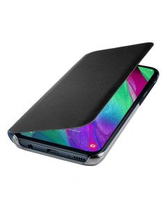 Husa Samsung Galaxy A40 Samsung Book Wallet Cover Black