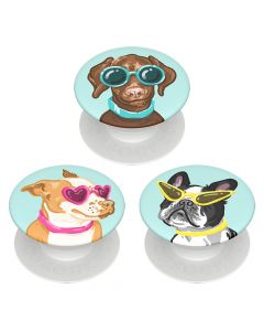 Suport Popsockets PopMinis Stand Adeziv Posh Pups