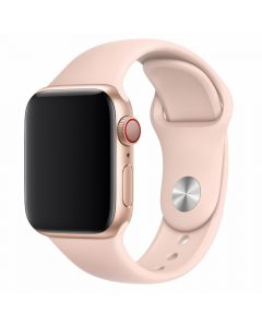 Curea Apple Watch 4 42mm / 44mm Devia Deluxe Series Sport Pink Sand
