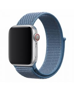 Curea Apple Watch 4 42mm / 44mm Devia Deluxe Series Sport 3 Cape Cod Blue