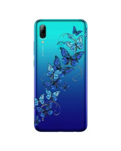 Husa Huawei P Smart (2019) Lemontti Silicon Art Butterflies