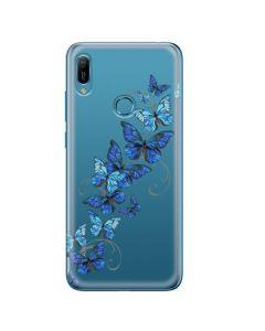 Husa Huawei Y6 2019 Lemontti Silicon Art Butterflies