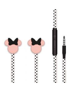 Casti Jack 3.5mm Disney Minnie Matt Head 3D Black