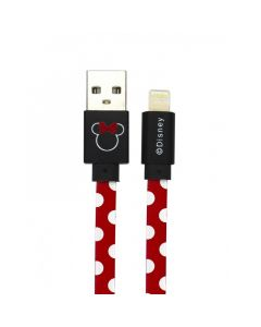 Cablu Disney USB Lightning Minnie Dots Red