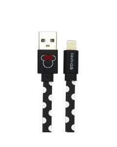 Cablu Disney USB Lightning Minnie Dots Black