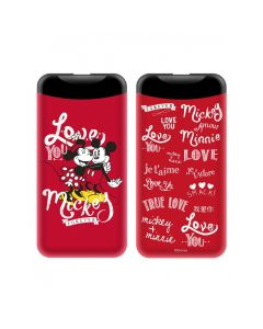 Power Bank Disney 2.1A Mickey and Minnie 002 6.000 mAh