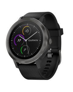 Smartwatch Garmin Vivoactive 3, Slate, Silicone Black