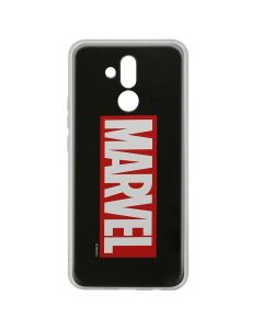 Husa Huawei Mate 20 Lite Marvel Silicon Marvel 001 Black
